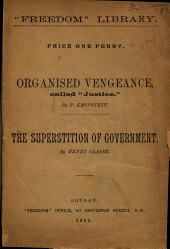 Organised Vengeance Called 'Justice.'.