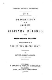 Description of a System of Military Bridges: With India-rubber Pontons. Prepared for the Use of the United States Army
