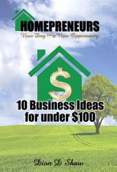 10 Home Business Ideas For Under $100