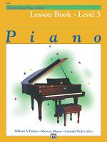 Alfred's Basic Piano Library - Lesson 3