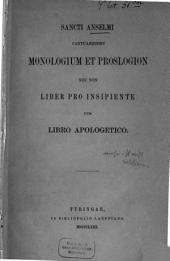 Opuscula philosophico-theologica selecta edidit Carolus Haas: Volume 1