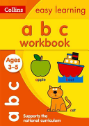 Collins Easy Learning Preschool - ABC Workbook Ages 3-5: New Edition