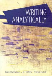 Writing Analytically Book PDF