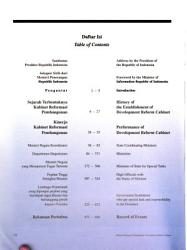 Development Reform Cabinet Republic Of Indonesia 1998 1999 Book PDF