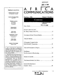 Africa Communications PDF