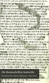 Die Bauinschriften Sanheribs