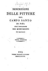 Descrizione delle pitture del campo santo di Pisa ... Terza edizione. [With plates.]