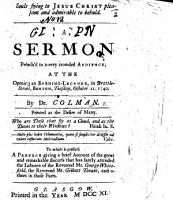 Souls flying to Jesus Christ pleasant and admirable to behold  A sermon preach d     at the opening an Evening Lecture  in     Boston     October 21  1740  etc PDF