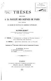 Contribution a l'étude du système nerveux sous-intestinal des insectes
