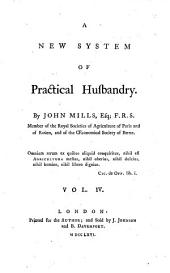 A new System of practical Husbandry: Volume 4