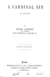 A cardinal sin, by Hugh Conway