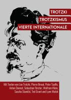 Trotzki  Trotzkismus  Vierte Internationale PDF