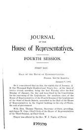 Proceedings of the House of Representatives, ... Legislative Session, State of South Dakota: Volume 1895