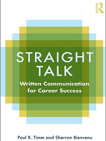 Straight Talk PDF