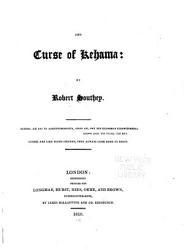 The Curse Of Kehama Book PDF