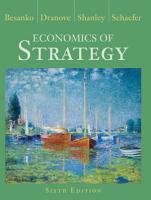 Economics of Strategy  6th Edition PDF
