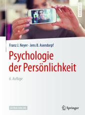 Psychologie der Persönlichkeit: Ausgabe 6