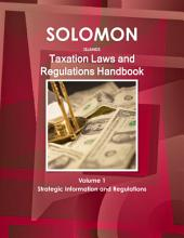 Solomon Islands Taxation Laws and Regulations Handbook