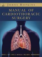 Johns Hopkins Manual of Cardiothoracic Surgery PDF