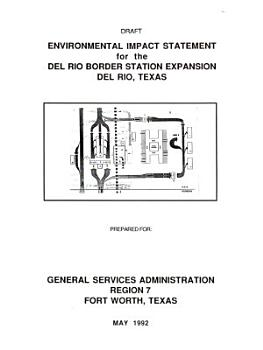 Del Rio Border Station Expansion PDF
