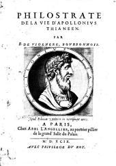 Philostrate de la vie d'Apollonius Thianeen