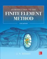 Introduction to the Finite Element Method 4E PDF
