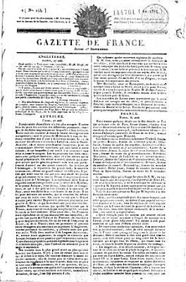 La Gazette de France PDF