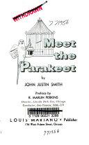 Download Meet the Parakeet Book