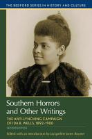 Southern Horrors and Other Writings PDF