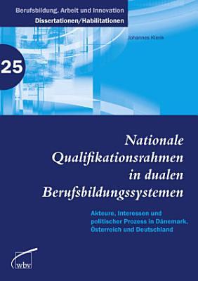 Nationale Qualifikationsrahmen in dualen Berufsbildungssystemen PDF