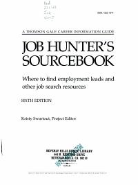 Job Hunters Sourcebook PDF