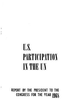 United States Participation in the United Nations PDF