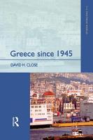Greece since 1945 PDF