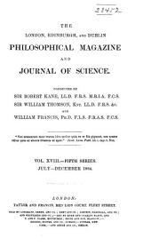 Philosophical Magazine: Volume 18