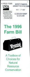 The 1996 Farm Bill