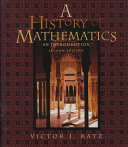 Download A History of Mathematics Book