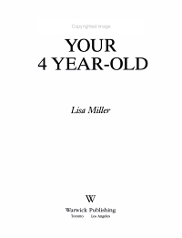 Understanding Your 4 Year Old PDF