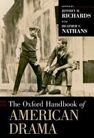 The Oxford Handbook of American Drama PDF