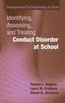 Identifying  Assessing  and Treating Conduct Disorder at School PDF