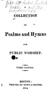 A Collection of Psalms and Hymns for Public Worship