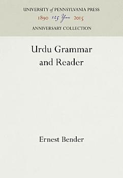 Urdu Grammar and Reader PDF