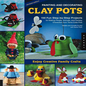 Painting and Decorating Clay Pots   Revised Edition PDF