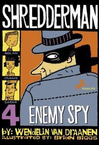 Shredderman  Enemy Spy PDF