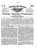 Zeitung des Vereins Deutscher Eisenbahn Verwaltungen PDF