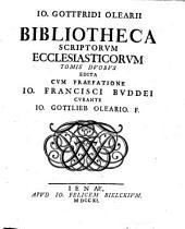 Bibliotheca scriptorum ecclesiasticorum: Volume 2