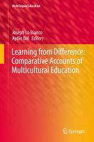 Learning from Difference  Comparative Accounts of Multicultural Education PDF