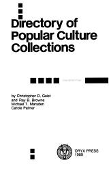 Directory of Popular Culture Collections PDF