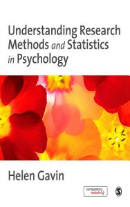 Understanding Research Methods and Statistics in Psychology Book