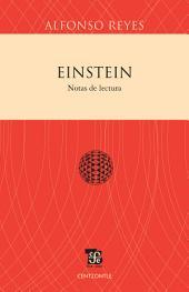 Einstein: Notas de lectura
