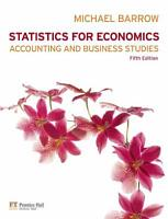 Statistics for Economics  Accounting and Business Studies PDF